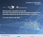 XIII Reunión Científica Anual del Área de Conocimiento de Neuroendocrinología