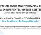 Actualización sobre monitorización flash de glucosa en diferentes niveles asistenciales.
