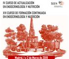 IV Curso de Actualización en Endocrinología y Nutrición