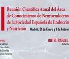 XI Reunión Científica Anual del Área de Conocimiento de Neuroendocrinología