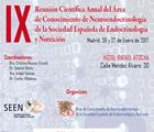IX Reunión del Área de Conocimiento de Neuroendocrinología