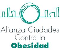 Logo de la Alianza Ciudades contra la Obesidad